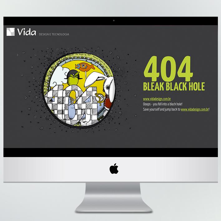 Erro 404  – site